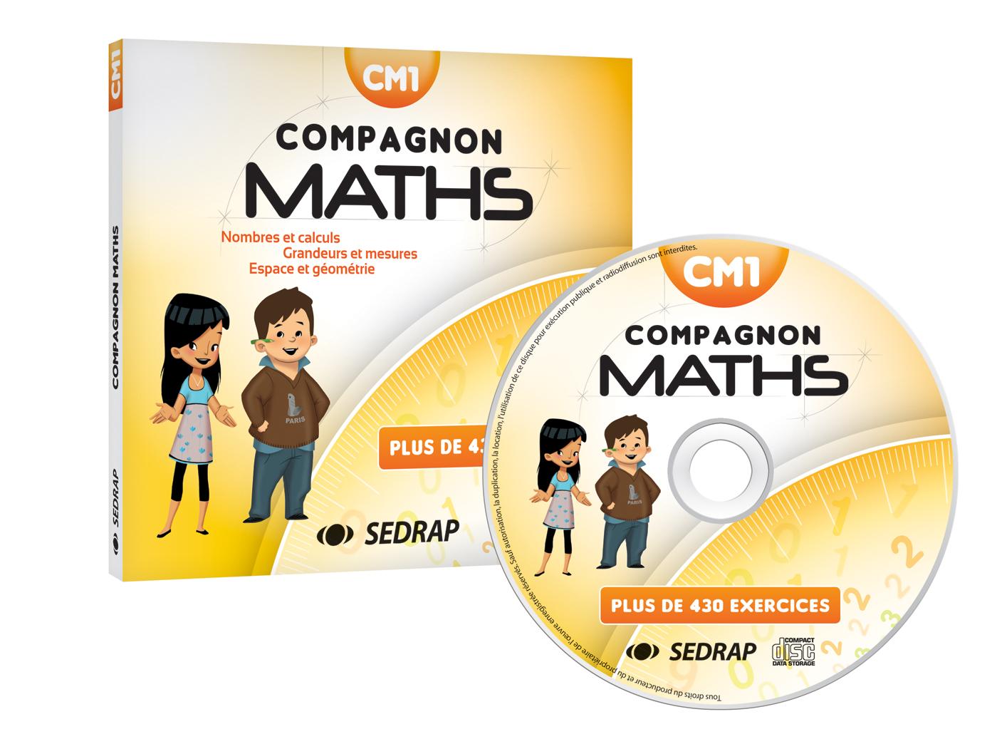 Compagnon Maths Cm1 Cd Ressources Sedrap