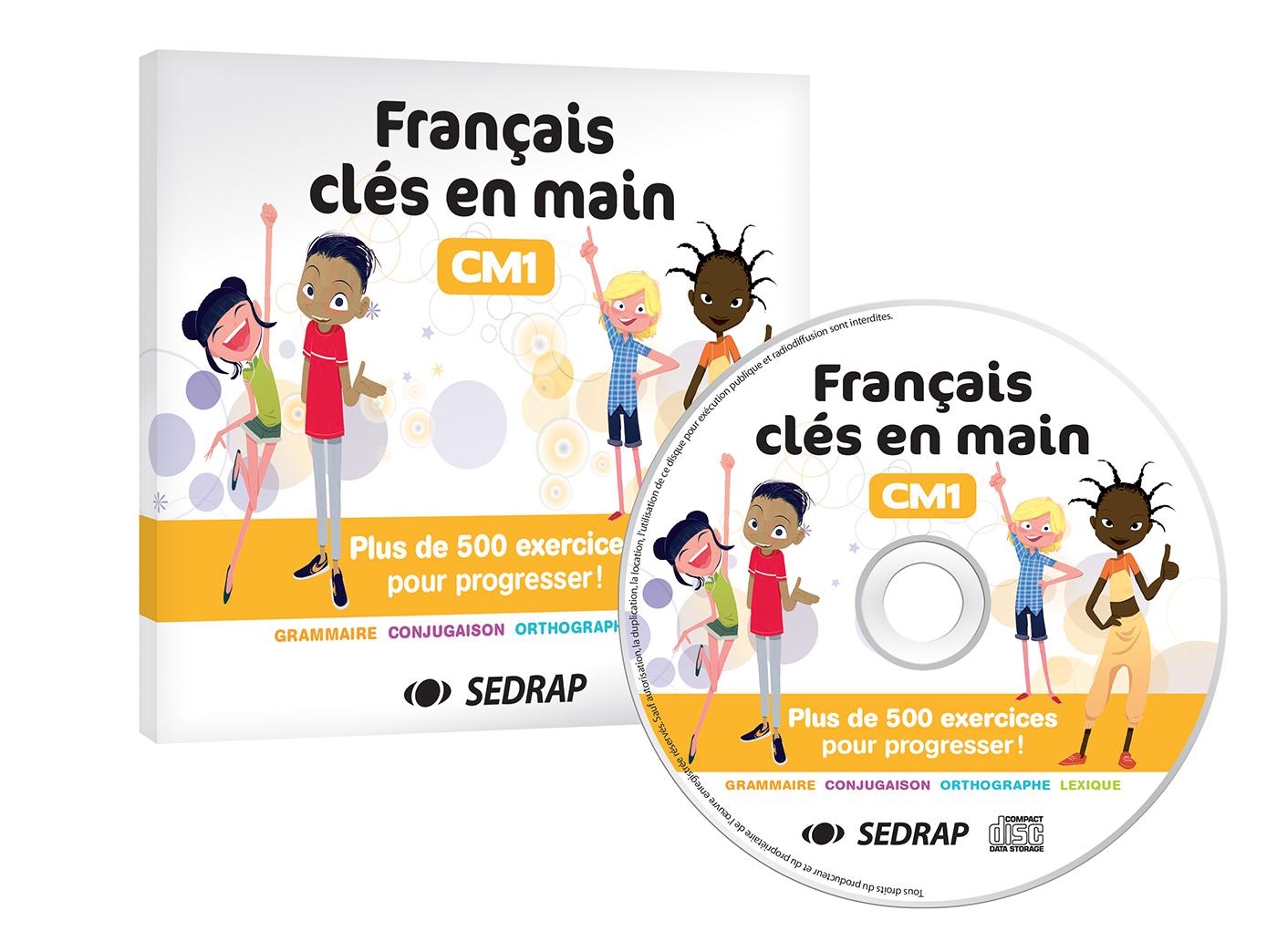 Francais Cles En Main Cm1 Cd Ressources Sedrap